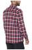 Jack Wolfskin Bow Valley overhemd en blouse lange mouwen rood/blauw